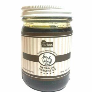 Salsa negra de habanero 125g
